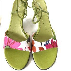 "Madeline ""Marian"" style sling back kitten heels"